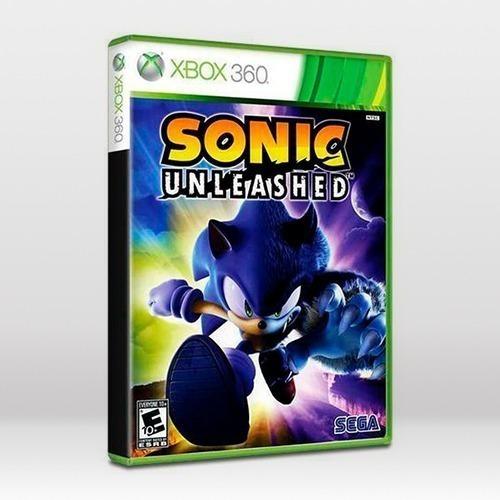 Jogo Sonic Unleashed Original Xbox 360