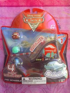 Cars De Disney Squinkies Figuras Miniatura Serie 1