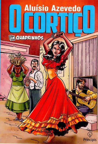 Imagem 1 de 1 de O Cortiço , De Aluisio Azevedo, Em Quadrinhos Literatura