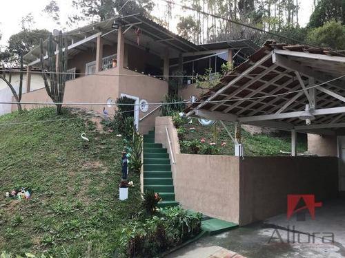 Linda Chacara Com 4 Quartos, Uma Suíte, 1830 M² Com 300 A/c Por R$ 330.000 - Terra Preta - Mairiporã/sp - Ch0223