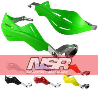 Cubre Manos Puños Alma Aluminio Spoiler Desmontable Nsr Moto