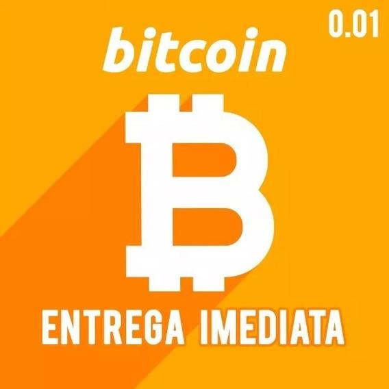 0.01 Btc Bitcoin Envio Imediato Boleto Bancário