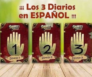 Diarios Gravity Falls Imprimibles Español Digital+especiales