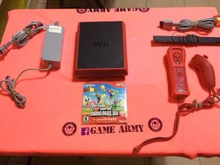 Mini Wii Edición Mario Original Garantizado