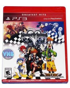 Kingdom Hearts Hd 1.5 Remix - Americano - Lacrado