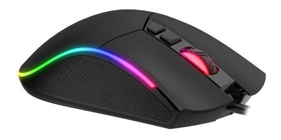 Mouse Gamer Havit Ms1001 Rgb 7 Botones 7200 Dpi Programable