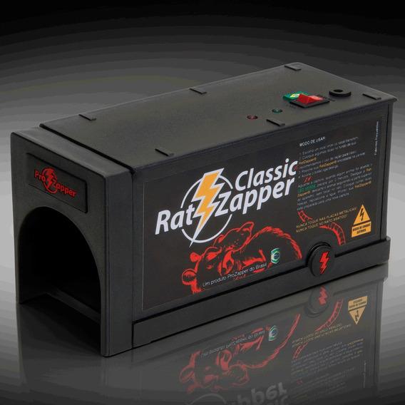 Ratoeira Elétrica Gaiola Rato Ratzapper Com Garantia