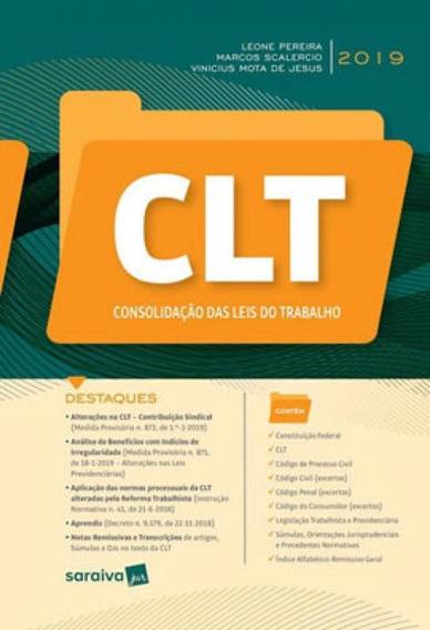 Clt - Consolidação Das Leis Do Trabalho - 1ª Edição De