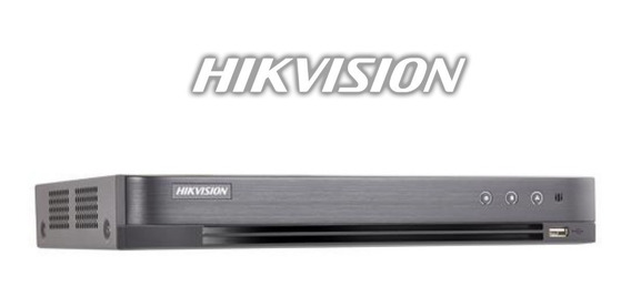 Dvr 16 Canales Full Hd 1080p Hikvision Linea Hqhi Salida 4k