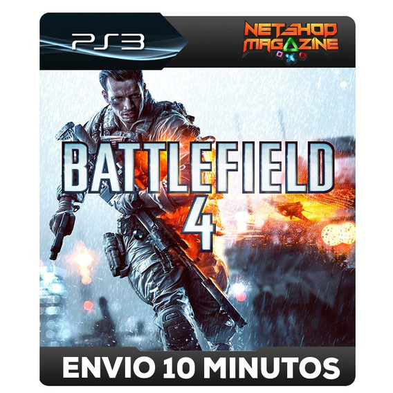 Battlefield 4 - Psn Ps3 - Português - Envio Imediato