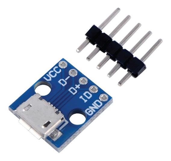 Conector Micro Usb En Pcb