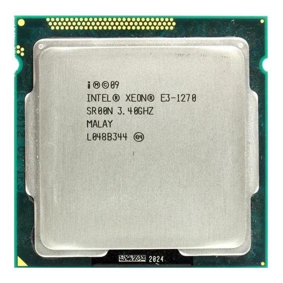 Intel Xeon E3-1270 3.4ghz / Max 3.8ghz - Gasile Processors