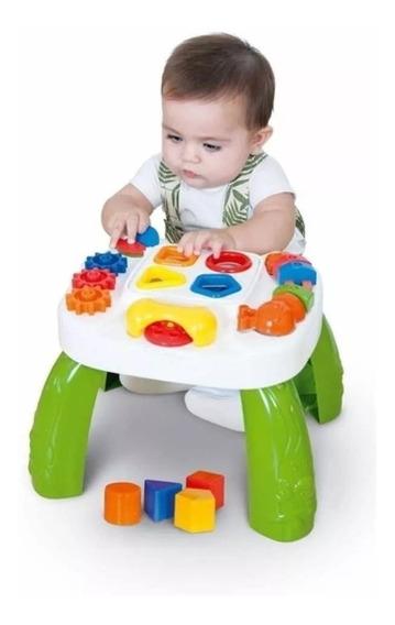 Mesa Pedagógica Educativa Play Time Cotiplas Meninos Bebes