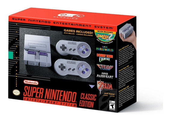 Super Nes Snes Classic Edition Super Nintendo Mini Americano