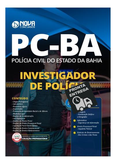Apostila Investigador De Polícia Pc-ba Polícia Civil Livro