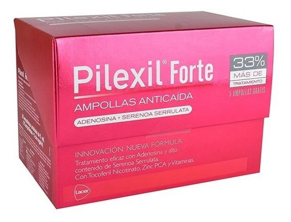 Pilexil Forte 20 Ampolletas Anticaída Cabello 100% Efectivo