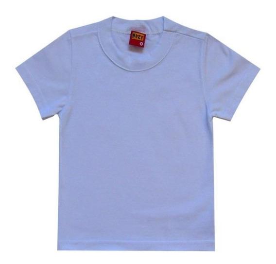 bc3227065d7b Camisetas Lisa Bebê 100% Algodão, Branca. - Roupas para Bebês com o ...