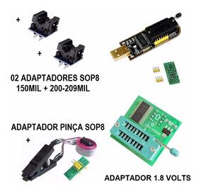 Kit Programador / Gravador Usb Para Bios De Receptores