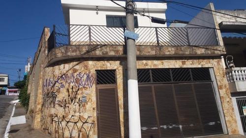 Sobrado Com 3 Dormitórios, 230 M² - Venda Por R$ 750.000,00 Ou Aluguel Por R$ 3.800,00/mês - Vila Industrial - São Paulo/sp - So6562