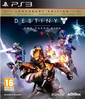 Destiny The Taken King Ps3 Destiny Edicion Legendaria Ps3