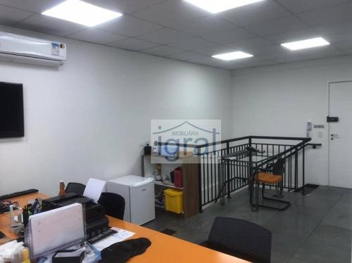 Sala, 72 M² - Venda Por R$ 875.000,00 Ou Aluguel Por R$ 3.600,00/mês - Jabaquara - São Paulo/sp - Sa0064