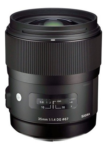 Lente Sigma 35mm F/1.4 Dg Hsm Para Canon - Loja Platinum