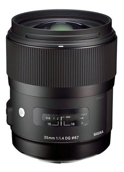 Lente Sigma 35mm F/1.4 Dg Hsm Para Canon - Lj. Platinum