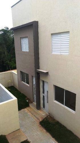 Casa Com 2 Dormitórios À Venda, 60 M² Por R$ 220.000,00 - Parque Rincão - Cotia/sp - Ca1295