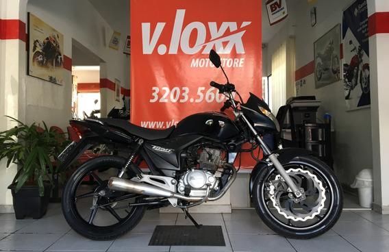 Honda Cg 150 Titan Esd Preta 2010