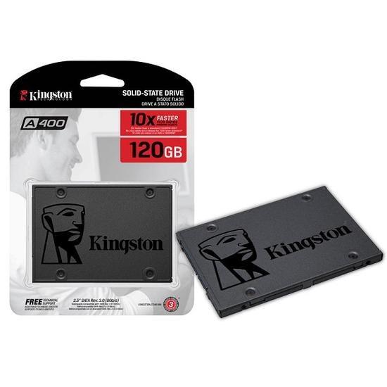 Hd Ssd Kingston 2.5 120gb 6gb/s A400 Pc Notebook