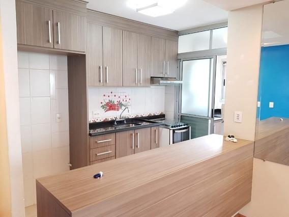 Apartamento Para Locação, Parque Novo Mundo, 3 Dormitorios, 1 Vaga De Garagem, Mobiliado - Ap07344 - 34691698