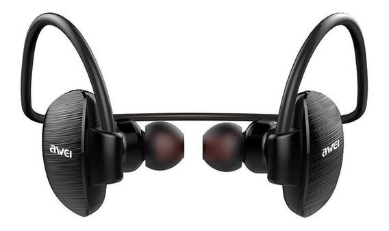 Fone Headphone De Ouvido Bluetooth Sem Fio Awei A847bl