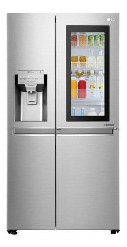 Geladeira/refrigerador 601 Litros 4 Portas Inox - LG - 110v - Gc-x247csav