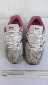 Tênis Nike Branco E Rosa N° 36 Cod 3007