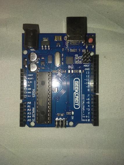 Kit Arduino Uno R3 Geekcreit® Básico Para Iniciantes