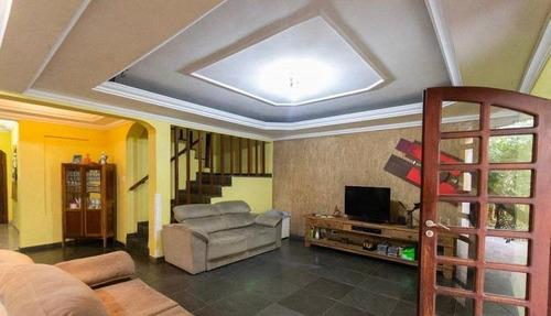 Imagem 1 de 30 de Sobrado Com 4 Dormitórios À Venda, 260 M² - Jardim Palermo - São Bernardo Do Campo/sp - So17143