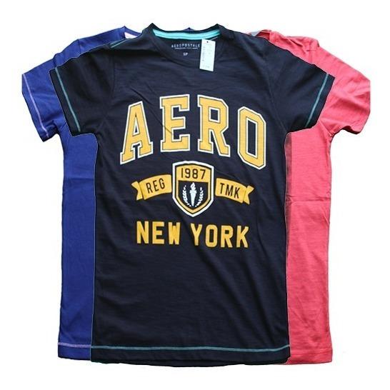 Playeras Hombre Aero Hollister Ae Liquidación 2019!!