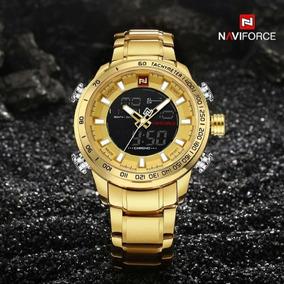 Relógio Naviforce Nf 9093 Luxo Original Pronta Entrega