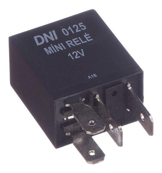 Míni Relé Auxiliar 40a - 12v 4 Terminais Com Resistor