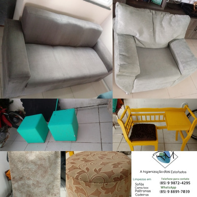 Lavagem A Seco De Sofás, Camas, Cadeiras, Pullfs E Tapetes.