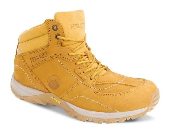 Bota Ankle Boot Hombre Amarillo 2617589