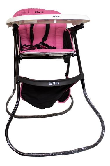 Silla Alta Hight Contrast Rosa Infanti Bebé Alimentos Envío