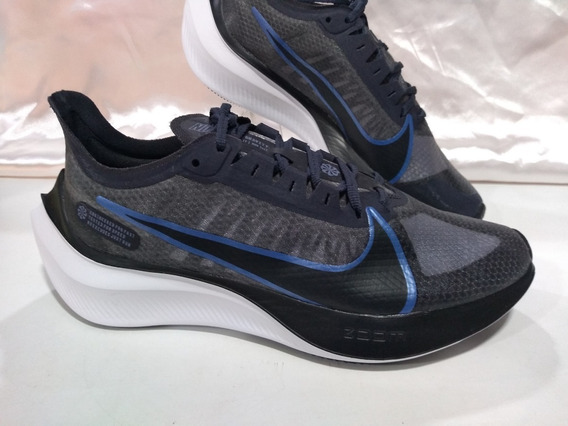 Tenis Nike Zoom Gravity Bq3202-007 Preto/azul Original