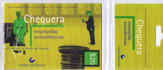 Filatelia Argentina Carnet Chequera Cat. Jalil N° 2927 $ 20
