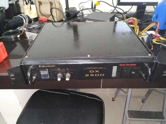 Potencia Amplificador Unic Dx 2500