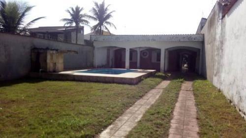 Casa Lado Praia Com Piscina E 2 Quartos Em Itanhaém 7028-pc