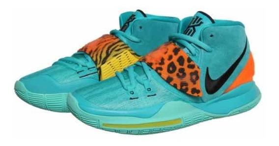 Nike Kyrie Vi 6 Aqua 30 Mx Jordan Lebron Kd Kobe Curry Nba