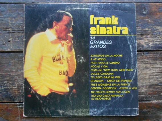 Frank Sinatra 14 Grandes Exitos Lp Vinilo