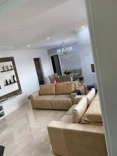Imagem 1 de 18 de Apartamento Com 3 Dormitórios À Venda, 115 M² Por R$ 790.000,00 - Vila Prudente (zona Leste) - São Paulo/sp - Ap0412