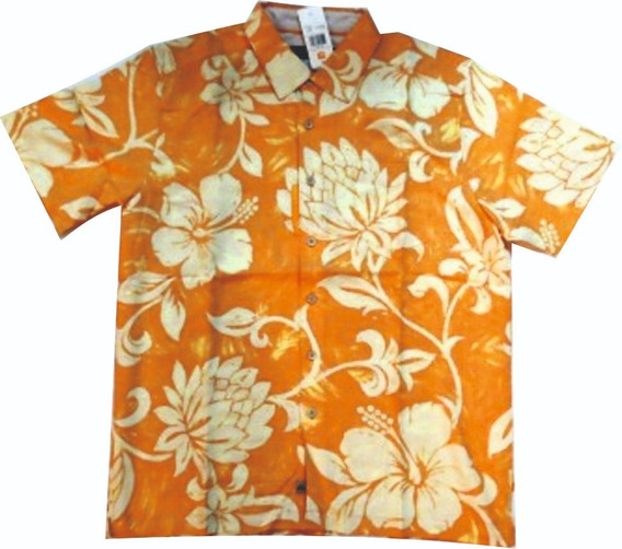 Camisa Hawaiiana Quiksilver 100% Original.